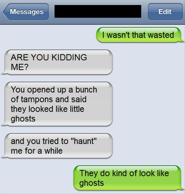 tampon ghosts