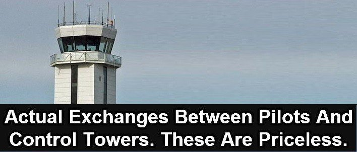 pilots and control tower
